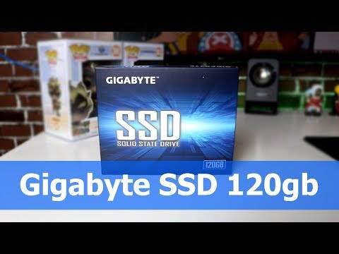 Cheapest SSD? - GIgabyte SSD 120gb Unboxing and Review