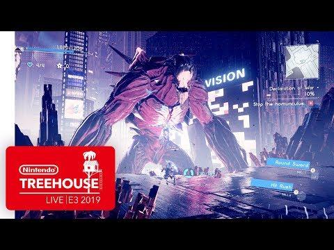 ASTRAL CHAIN Gameplay Pt. 2 - Nintendo Treehouse: Live | E3 2019 thumbnail