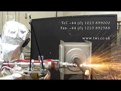 Hand-operated laser cutting for nuclear decommissioning