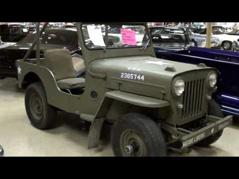 Willys Jeep CJ3B Military Vehicle Quick Look
