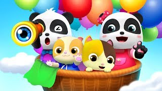 Baby Panda Theme Song   Pretend Play   Learn Colors, Food Song  Kids Songs  Baby Cartoon   BabyBus