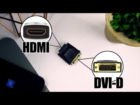 Does a DVI-D to HDMI Adapter Work?!