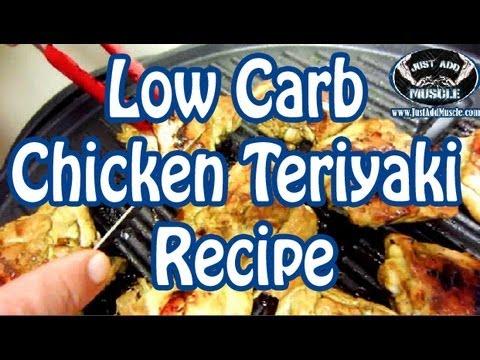 Low Carb Chicken Teriyaki Recipe – chicken thighs – keto – keto diet recipes – ketogenic