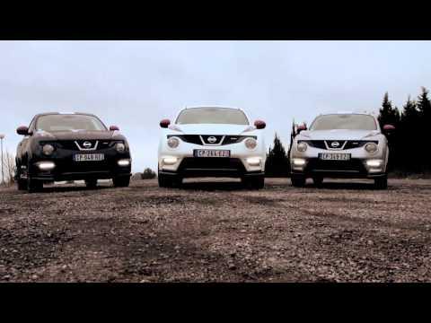 Nissan  Juke Nismo Rs Хетчбек класса B - рекламное видео 1