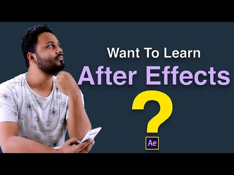 Want to Learn After Effects ?