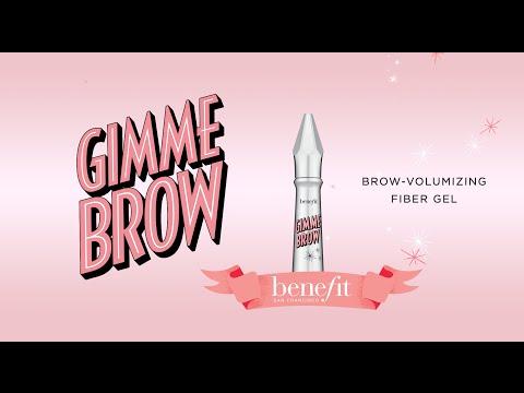 39edf57ba5f Benefit Cosmetics Gimme Brow Volumizing Eyebrow Gel Travel Size Mini ...