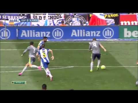 Espanyol vs Real Madrid  0-6/GOALS & Highlights/La Liga 2015/16