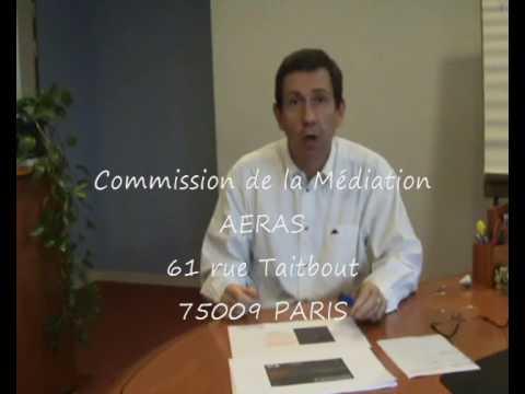 La commission de médiation dans la convention AERAS