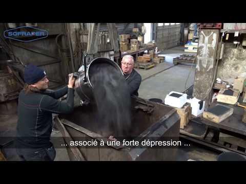 Aspirateur industriel SOFRAPER APS 350D - Maintenance - Poussières et liquides