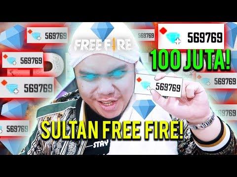 SULTAN BELI 570.000 DIAMONDS TOTAL 100JUTA TANPA RAGU SPECIAL 3JUTA SUBS! - Free Fire Indonesia #47