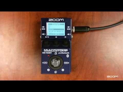 Zoom MS-100BT (guitare électrique)