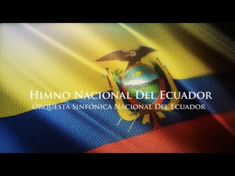Himno Nacional del Ecuador (versión oficial) - Orquesta Sinfónica Nacional del Ecuador