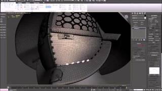Gladiator Helmet 3ds Max Modelling Timelapse