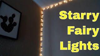 Decorate With Me - Adding Fairy Lights To The Bedroom