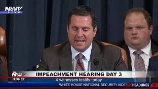 'ACT II OF TODAY'S CIRCUS': Devin Nunes Opens Afternoon Hearing Mocking Dems