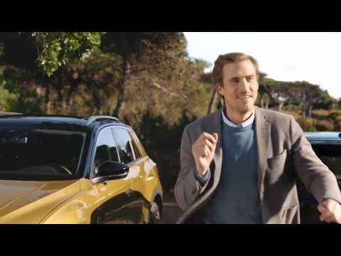 Volkswagen  T Roc Кроссовер класса J - рекламное видео 3