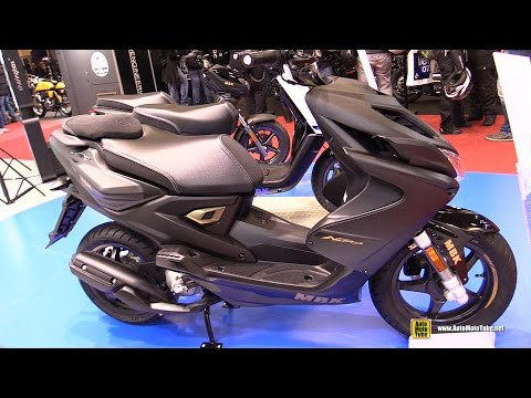 2016 MBK Nitro Naked 50 Scooter – Walkaround – 2015 Salon de la Moto Paris
