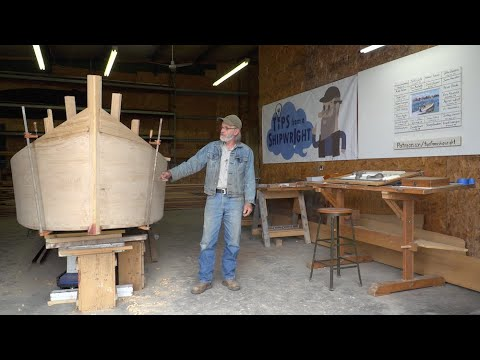Tips from a Shipwright: The 23' V-Bottom Skiff Episode 1