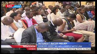 CAPPING INTEREST RATES: Existing interest rates on bank loans will continue for the moment
