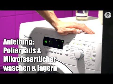 Polierpads & Mikrofasertücher richtig waschen | waschen & lagern | AUTOLACKAFFEN