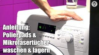 Polierpads & Mikrofasertücher richtig waschen   waschen & lagern   AUTOLACKAFFEN