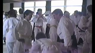 Opening of Alness Dojo by Sensei Williams May 1987