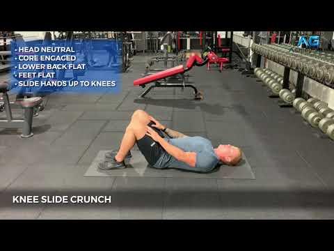 Knee Slide Crunch
