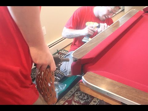 Assembling A 1941 Brunswick 9 ' Pool Table Mp3
