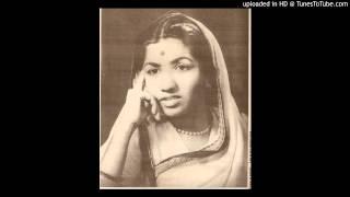 LATA JI~Film~BAWRA~{1950}~Shama Jalti Hai To Parwane