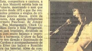 Ana Mazzotti  - Cordão de Chico Buarque (1974)