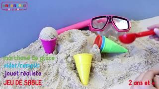 Moules à sable Cornets de glace