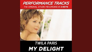 My Delight (Performance Track In Key Of G)