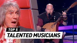 The Voice | TALENTED MUSICIANS in The Blind Auditions [PART 2]