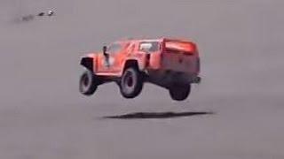 Robby Gordon & Johnny Campbell spectator video from the 2012 Dakar.mpg