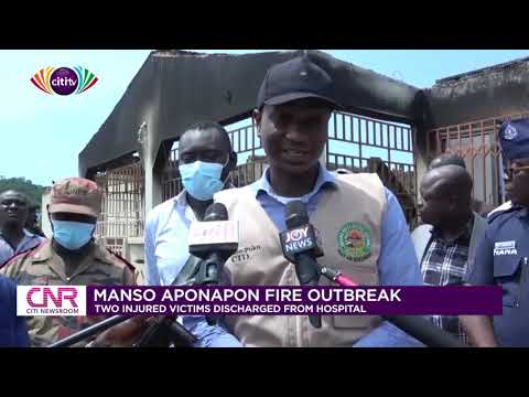 Two victims of Manso Aponapon fire discharged from hospital | Citi Newsroom