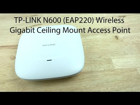 How To Setup a TP-LINK EAP220 N600 Wireless Access Point with the EAP Controller Software