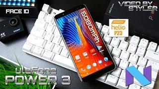 Ulefone Power 3   Full Review   6080mAh, Helio P23, Face ID, 6GB RAM