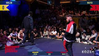 Odilon vs Waydi 1ST CHALLENGER ROUND Hiphop Forever Warrior Edition - Summer Dance Forever 2018