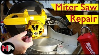 Fixing a Miter Saw