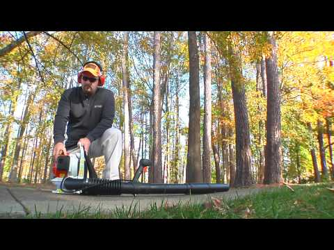 Stihl BR 200 in Fairbanks, Alaska - Video 1