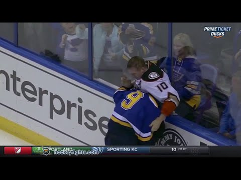 Steve Ott vs. Corey Perry
