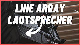 Wir bekommen ein Line Array   Wie professionelle PA Sound Systeme funktionieren