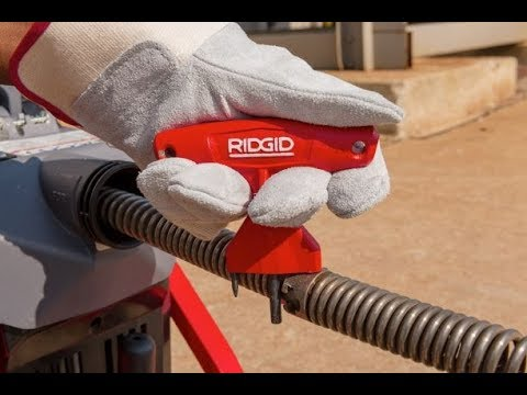 RIDGID K-5208 Coupling and Decoupling