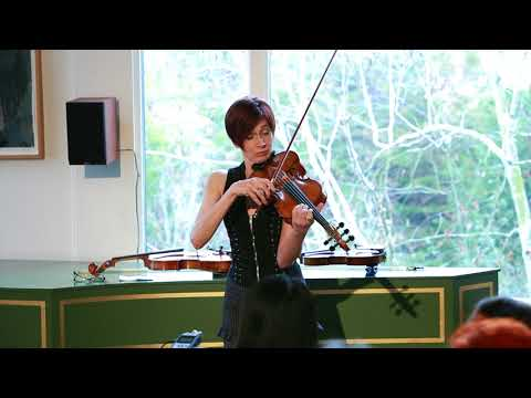 CD Release performance, Sonaquifer Suite for Solo Viola --Reverie