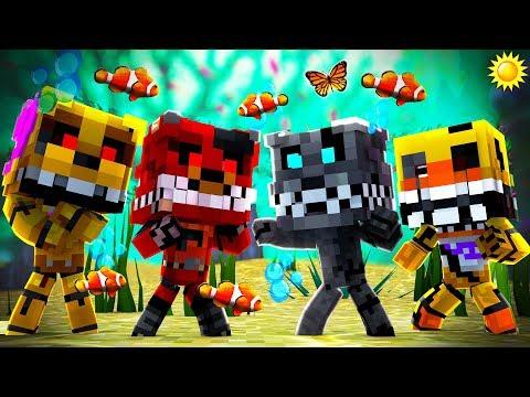 Minecraft - FNAF Twisted Ones - NIGHT 2!