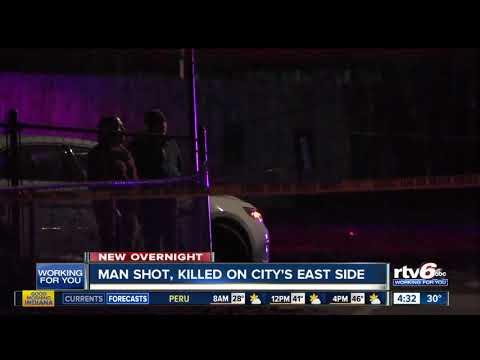 Man shot, killed on city's east side