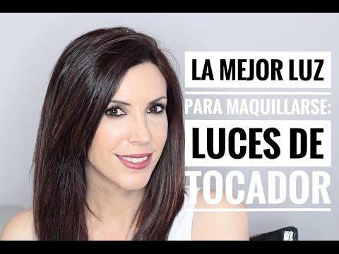 LA MEJOR LUZ PARA MAQUILLARSE: LUCES DE TOCADOR