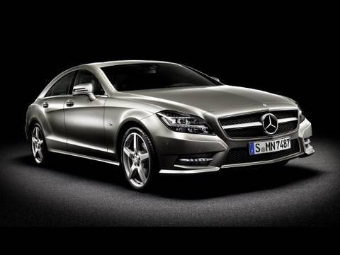 All-new 2012 Mercedes-Benz CLS-Class revealed