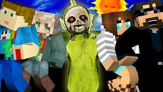 Minecraft: TELETUBBIES MURDER   MODDED MINI-GAME