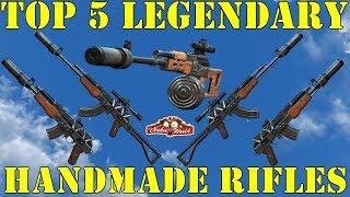 Fallout 4: Top 5 Legendary Handmade Rifles